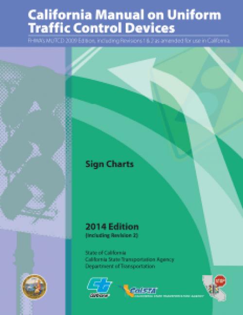 CalTrans Sign Chart 2014