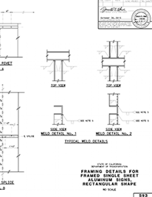 CalTrans Framing Details for Framed