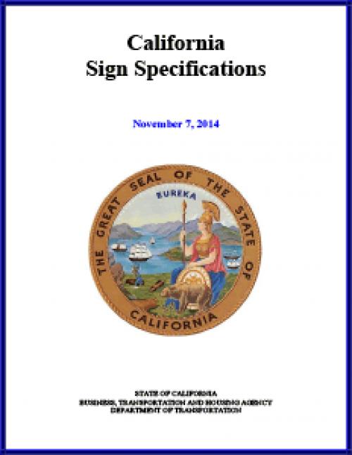 California Signs & Specs