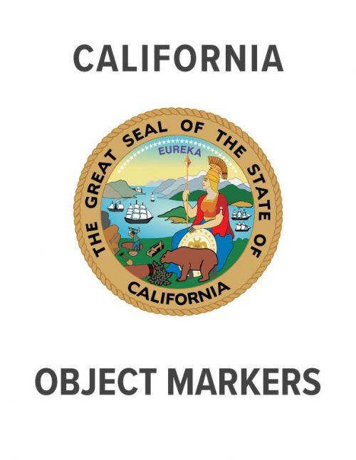 California Object Marker Specs