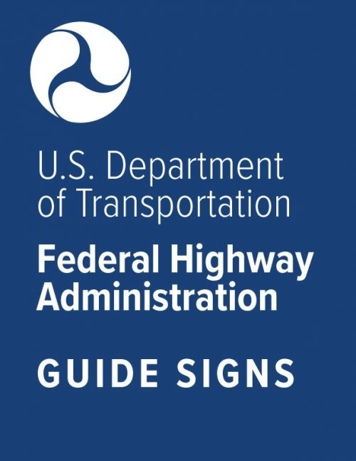 Federal Guide Sign Specs