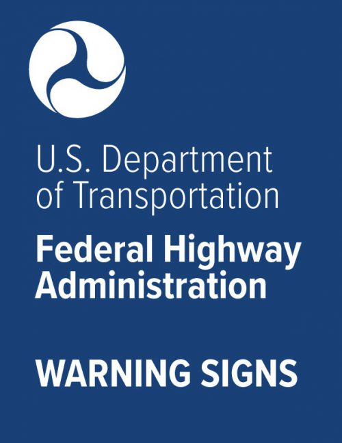 Federal Warning Sign Specs