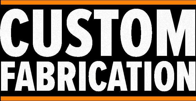 Custom fabrication header text